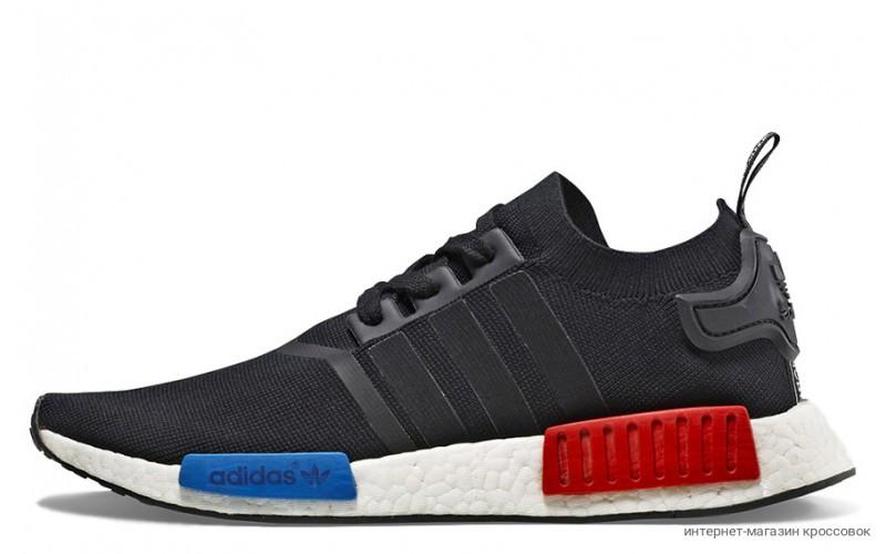 Adidas NMD R1 Primeknit Original Black