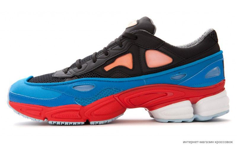 Raf Simons x Adidas Ozweego 2 Black/Red/Blue
