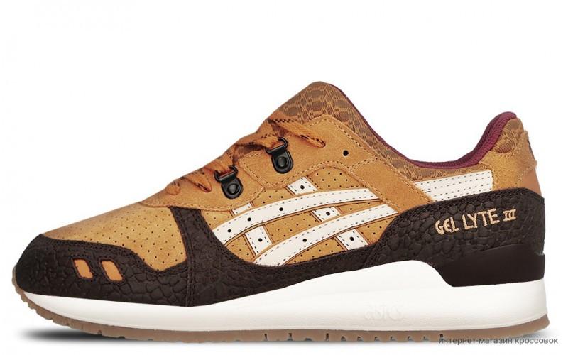 Asics Gel Lyte III Workwear Pack Brown